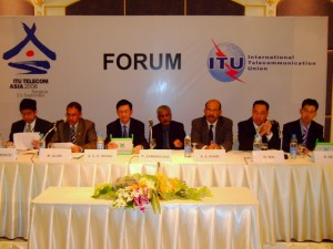 Mega panel at ITU Telecom Asia 2008